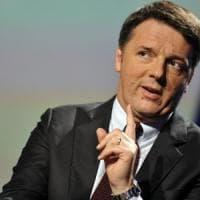 """Renzi: """"Italia pronta a mettere veto sul bilancio Ue se i Paesi dell'Est non acc..."""