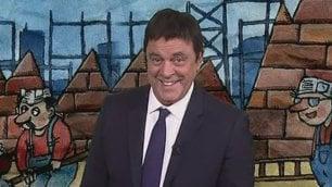 Crozza-Renzi, vaccini e sinistra ''Io ho fatto l'antibersanica''