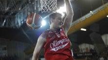 Olympiacos troppo forte MIlano, prima sconfitta