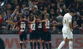 Genoa-Milan 3-0: il Grifone riporta sulla terra i rossoneri