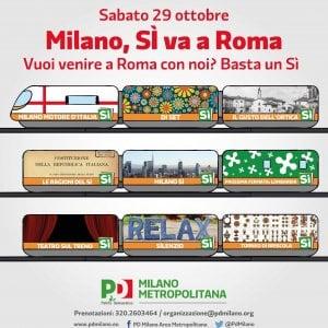 Il referendum in piazza, sabato la manifestazione di Renzi e i flash mob del No