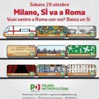 Il referendum in piazza, sabato la manifestazione di Renzi e i flash mob