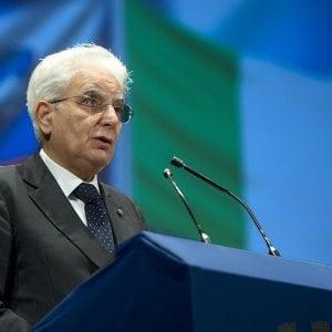 """Il richiamo del presidente Mattarella: """"A Ue servono critiche severe, ma costruttive"""""""