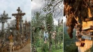 Bambole, croci, bare sospese i luoghi più terrificanti nel mondo