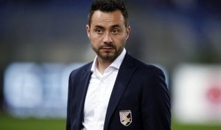 """Palermo, De Zerbi: """"Avanti con le mie idee. Zamparini? Lui è il capo ma decido io''"""