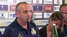 Italia, tre esami verità O'Shea: ''Tifosi dovranno essere fieri di noi''