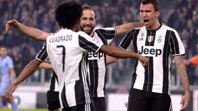 Juve va, Roma e Napoli tengono il passo    Inter su con 2 gol di Icardi, poker Lazio