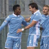 Lazio-Cagliari 4-1, il tridente fa volare i biancocelesti