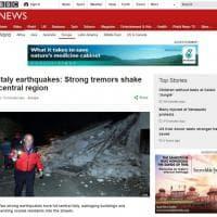 La terra trema in Centro Italia, la notizia sui siti stranieri