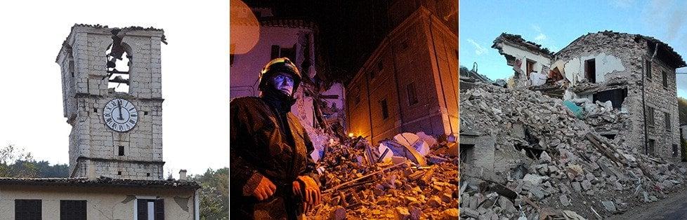 """Nuova scossa del 4,4: """"Migliaia di sfollati, subito in hotel""""   foto     video     Terremoto  tra Marche e Umbria  -   Mappa   -   fotoracconto"""