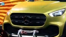 Nuovo X-Class: il pick-up sale in Mercedes