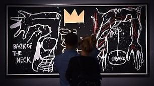 Milano, omaggio a Basquiat alle origini della street art