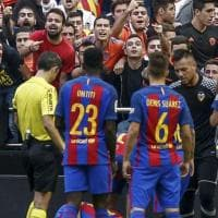 ''Comportamento ridicolo'' a Valencia, il Barcellona attacca il giudice sportivo