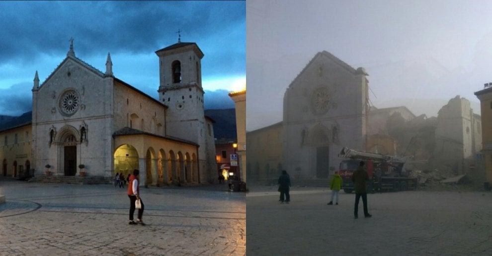 Terremoto, scossa 6.5 nel Centro Italia: le immagini