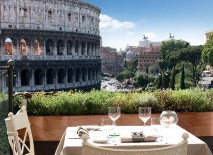 Roma a tavola:  se la cucina non vi basta, ecco una vista da Oscar