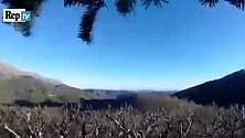 Il momento della scossa  filmato dai cacciatori    GUARDA TUTTI I VIDEO