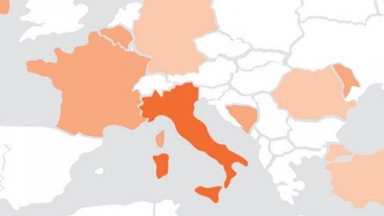 Phishing e spam: l'Italia tra i Paesi top nel mirino del cybercrimine