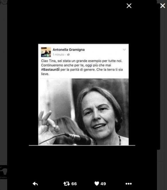 Gramigna (Pd), gaffe social su Facebook: scambia Iotti per Anselmi