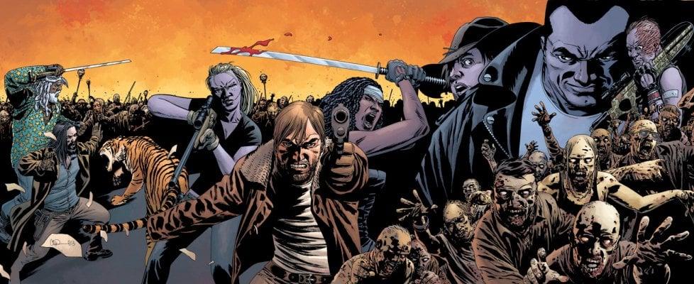 """Charlie Adlard, l'uomo dietro i disegni di 'Walking Dead': """"Sono un tipo felice, no?"""""""