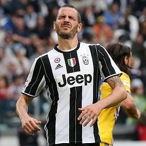 Juventus, Allegri perde Bonucci: niente Chievo e Nazionale
