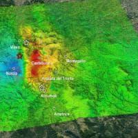 Terremoto, satellite giapponese conferma: area di Norcia scalzata di 35 cm