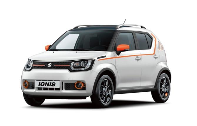 Suzuki Ignis iUNIQUE, dal web al garage