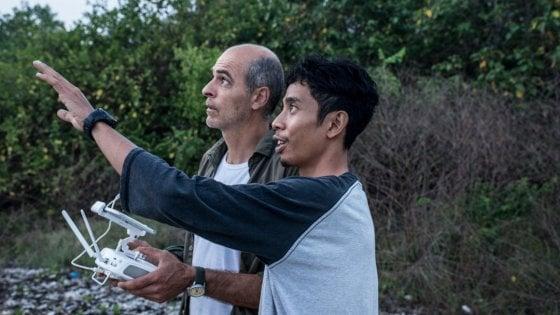 In volo col drone sulle foreste di mangrovia a Java. Che rischiano di sparire