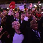 Usa, Trump presidente: l'esultanza all'Hilton per la vittoria del tycoon