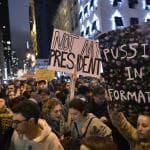 Proteste contro Trump, protagonisti i giovani