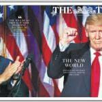 Trump presidente, le prime pagine dei giornali