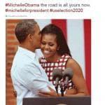 Sognando Michelle alla Casa Bianca: su Twitter la campagna per le elezioni