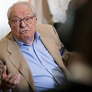 """Jean-Marie Le Pen: """"Tutto iniziò con me, in politica non paga essere moderati"""""""