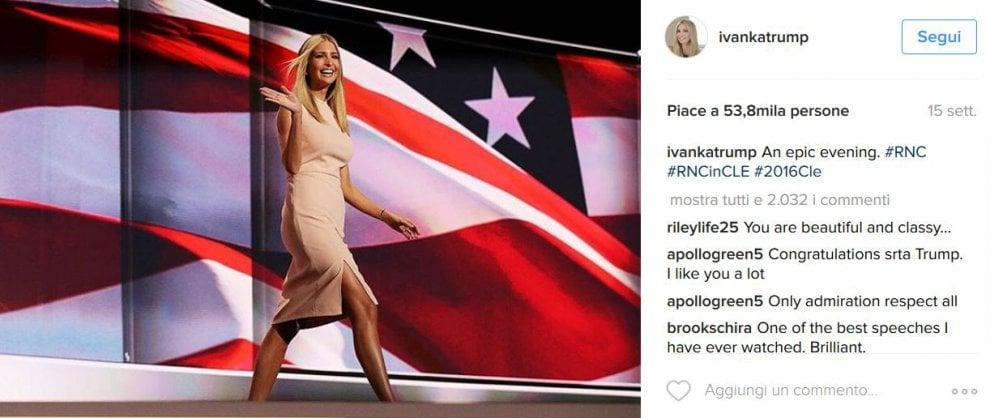 Ivanka, la figlia multi-tasking di Trump si racconta su Instagram