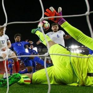 Under 21, beffa Italia in Inghilterra: azzurrini ko al 93'