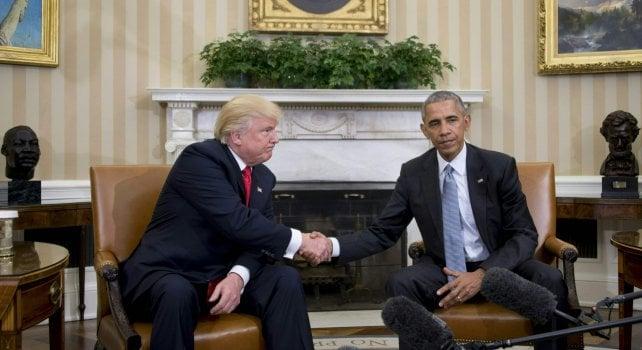 """IL CICLONE TRUMP CONQUISTA L'AMERICA Sarà il 45° presidente degli Stati Uniti """"È ora di guarire le ferite che ci dividono"""""""