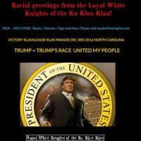 Usa 2016, Ku Klux Klan prepara una parata per Trump: l'annuncio sul sito web