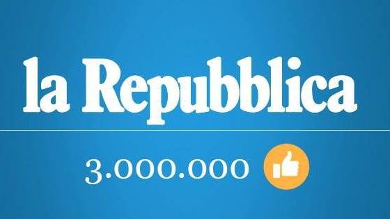 Il record di Repubblica su Facebook: 3 milioni di like