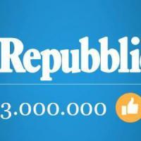 Il record di Repubblica su Facebook: