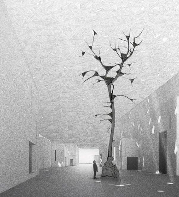 """Al Louvre di Abu Dhabi entra """"l'albero"""" di Penone"""