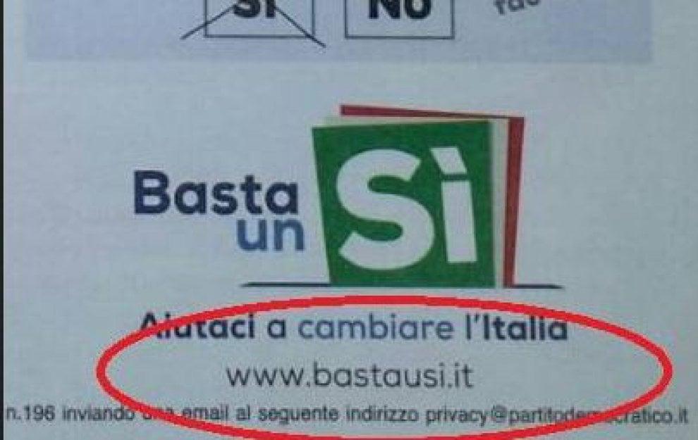 Referendum, il refuso nella lettera di Renzi agli italiani: il link porta alle ragioni del No
