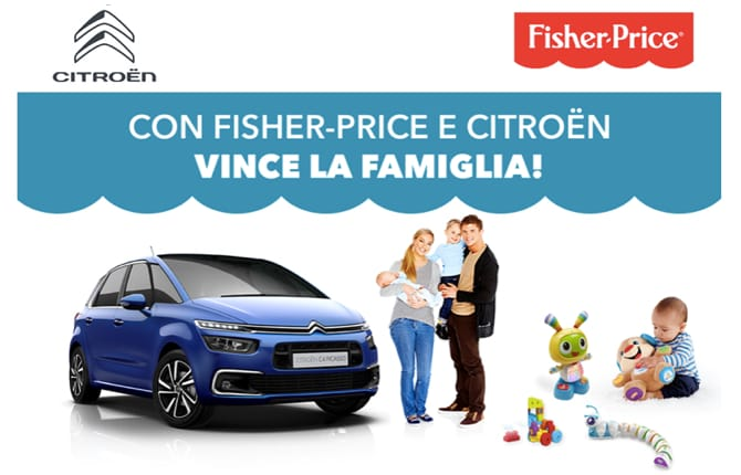 Citroen & Fisher-Price, il luna park in auto