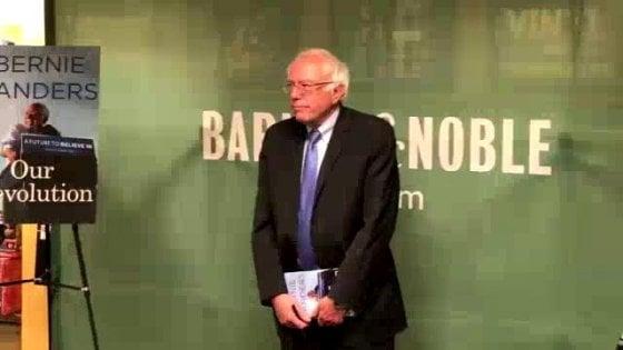 """Sanders: """"Ora pensiamo ai giovani disillusi da queste elezioni"""""""