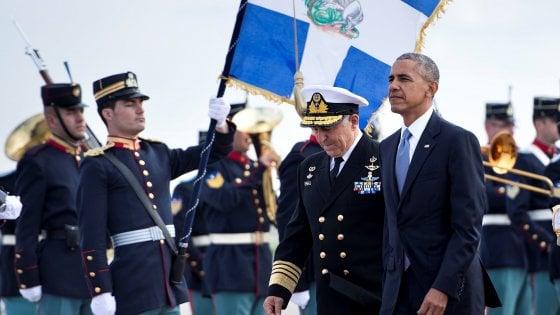 Arriva Obama, Tsipras blinda Atene per paura di cortei