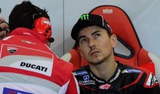 """MotoGp, Lorenzo sorride: con la Ducati c'è già feeling. Rossi: """"Mi aspettavo di più dal nuovo motore"""""""