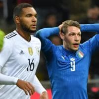 Pagelle Italia-Germania: bene Belotti e De Rossi