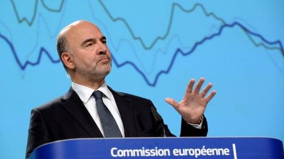 Manovra, per la Ue l'Italia è a rischio di non rispettare il Patto di Stabilità