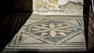 Pompei, inaugurata la Casa dei mosaici geometrici