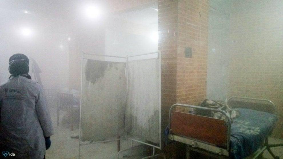 Raid Aleppo, colpito ospedale pediatrico: la struttura dopo il bombardamento