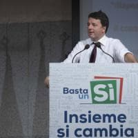 Referendum, Renzi rilancia:
