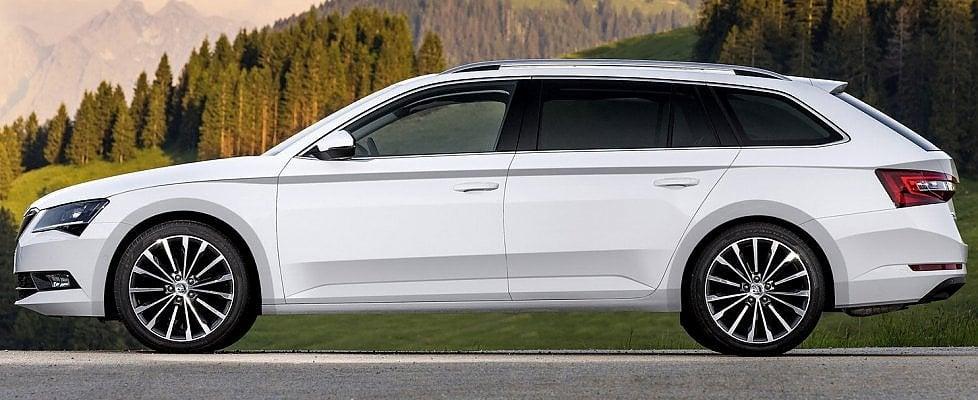 Škoda Superb Wagon, l'emozione del «Simply clever»